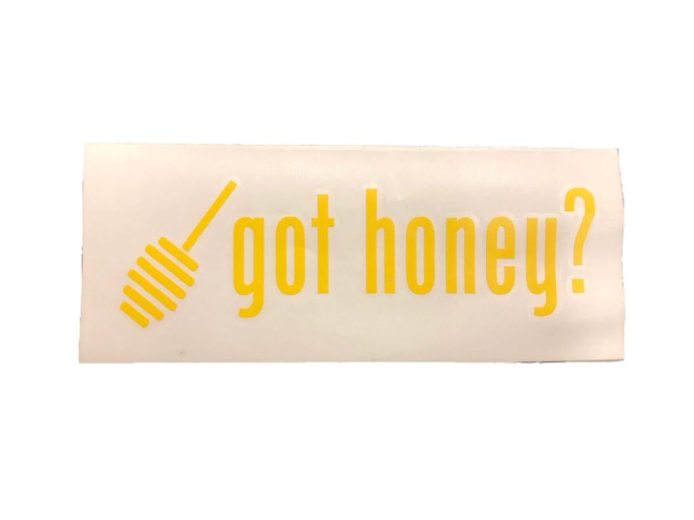 Got Honey Decal