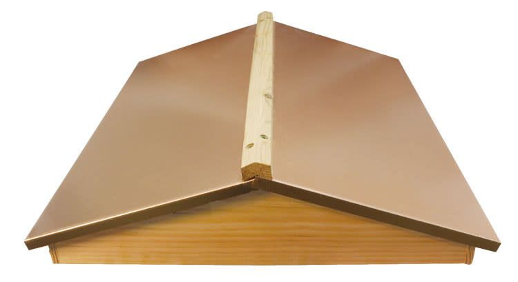 8 Frame Copper Colored Garden Hivery Cover