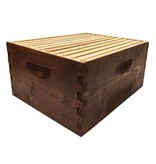 10 Frame Deep Assembled Stained Hive Combo w/Frames & Foundation