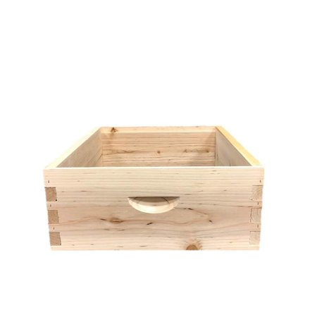 10 Frame Cypress Med Assembled Unfinished Hive Box w/o Frames