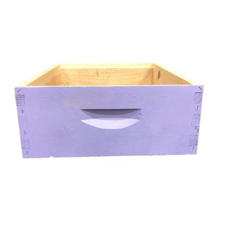 10 Frame Medium Assembled Bright Colors Pine Hive Box w/o Frames