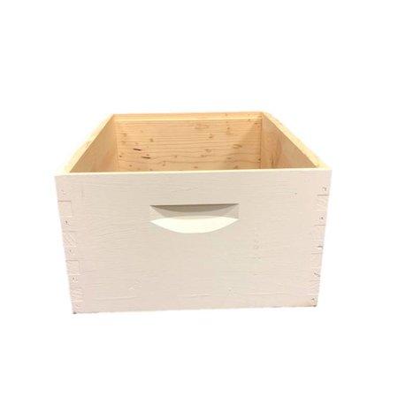 10 Frame Deep Assembled White Pine Hive Box w/o Frames