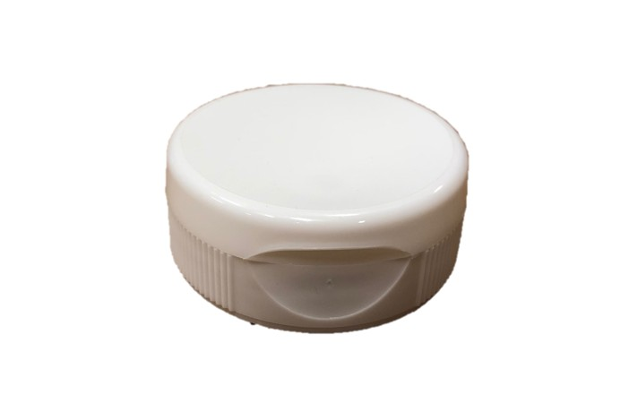 12 pack white flip top lids