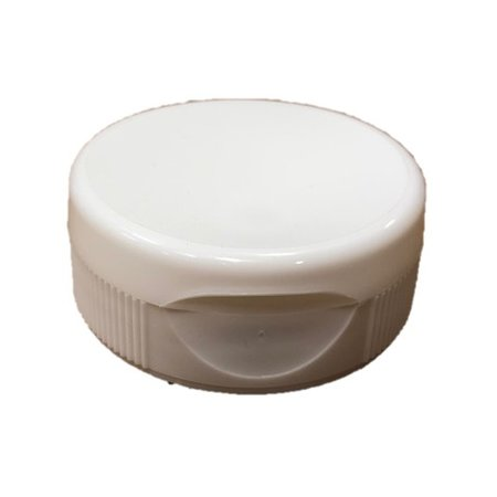 12 pack white flip top lids