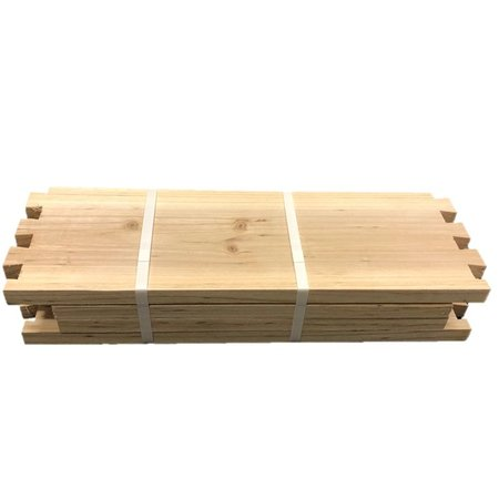 8 Frame Medium Unassembled Cypress Hive Box