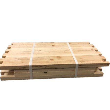 8 Frame Deep Unassembled Cypress Hive Box