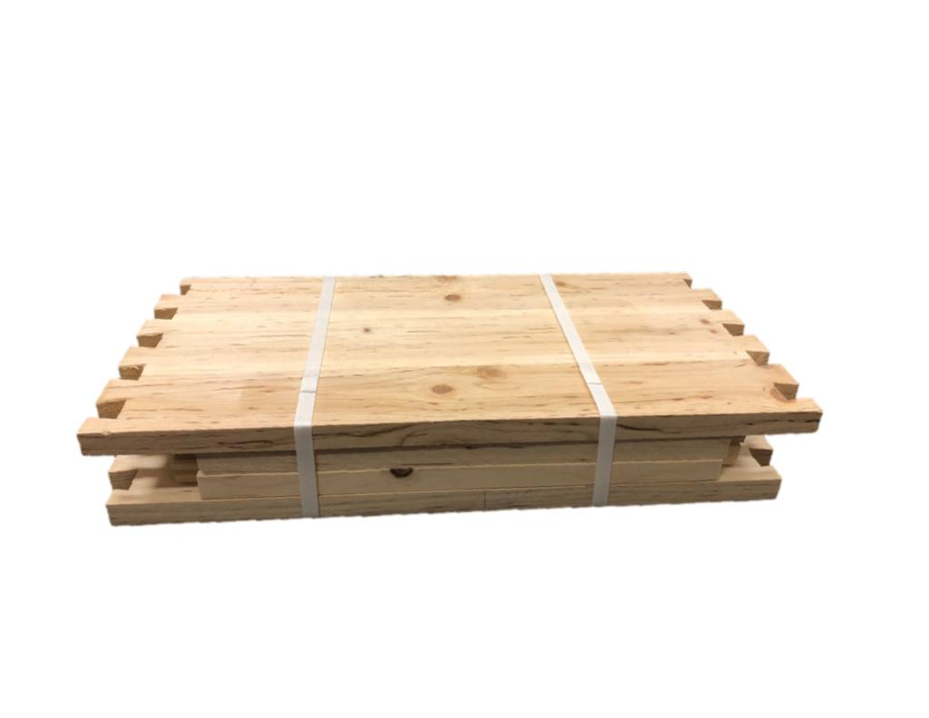 8 Frame Deep Unassembled Cypress Hive Box