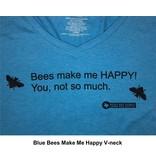 Bees Make Me Happy V-neck