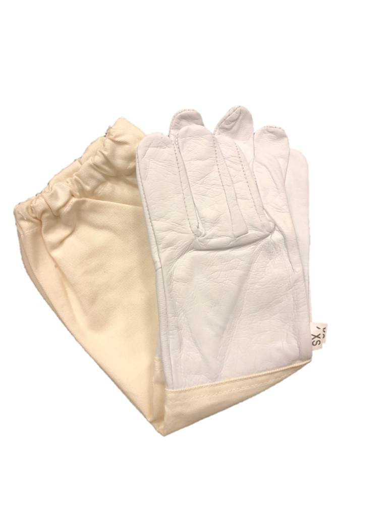 Child Goatskin Non-Vented Beekeeping Gloves