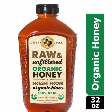2 lb Organic Raw Honey