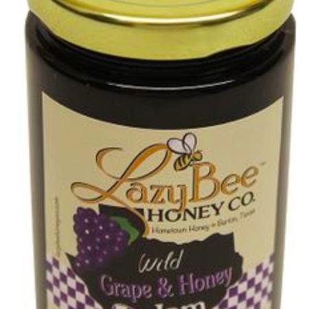 Lazy Bee Grape and Honey Jam 11 ounce