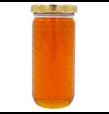 12 oz cylinder jar with lids-Case 12