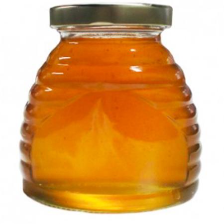 Glass Skep Jar 12oz with lid-case of 12
