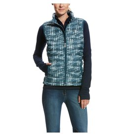 Ariat Ariat Women's Sweater Print Ideal Down Vest