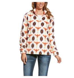 Ariat Ariat Women's Cream Print Creek Pullover