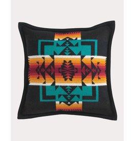 Pendleton Woolen Mills Chief Joseph Black Pillow