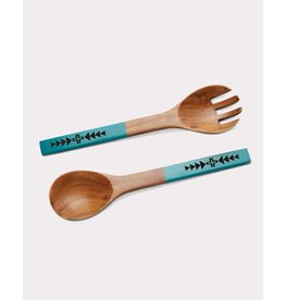 Pendleton Woolen Mills Acacia Wood Utensils, Set of 2