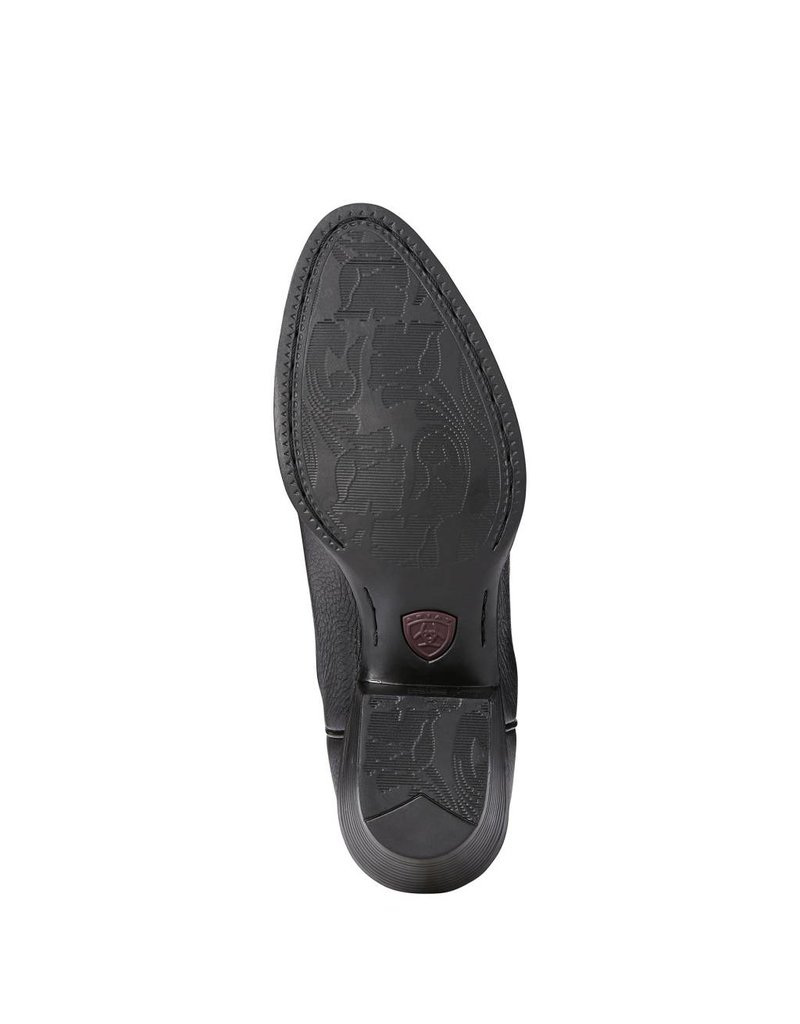Ariat Ariat Women's Black Deertan Heritage R Toe Western Boots