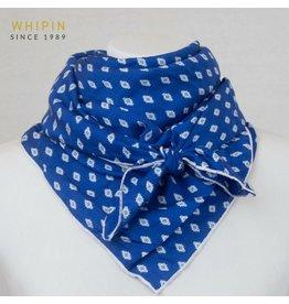 Whipin Wild Rags Blue Aztec Print Wild Rag