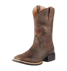 Ariat Ariat Men's Distressed Brown Sport Wide Square Toe Boots