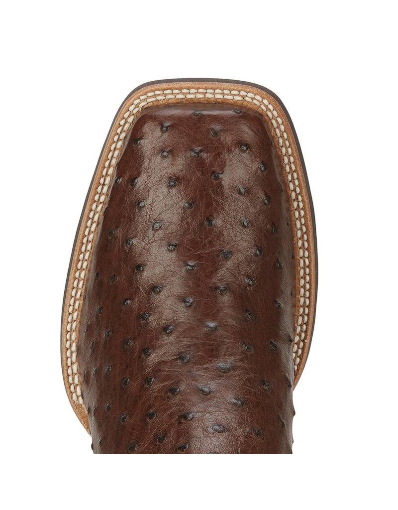 Ariat Ariat Men's Antique Tabac Quantum Classic Full Quill Ostrich Boots