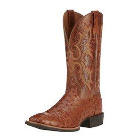 Ariat Ariat Men's Brandy Quantum Classic Full Quill Ostrich Boots