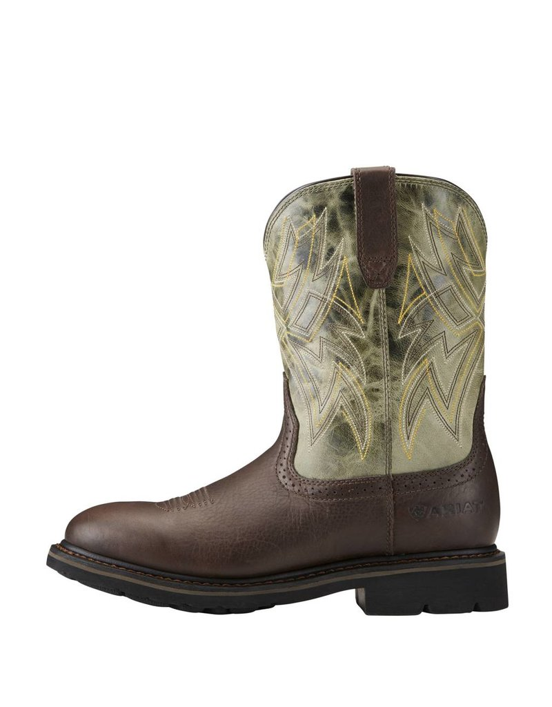 Ariat Ariat Men's Dark Chocolate Everett Work Boots