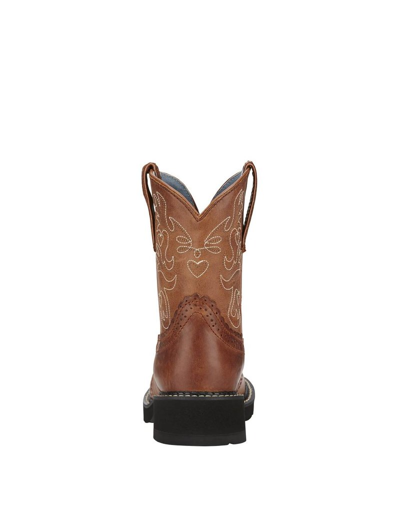 Ariat Ariat Women's Russet Rebel Fatbaby Saddle Western Boots