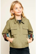 Hayden Multi Pocket Youth Cargo Jacket