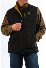 Cinch Cinch Men's Black & Gold Bonded Vest