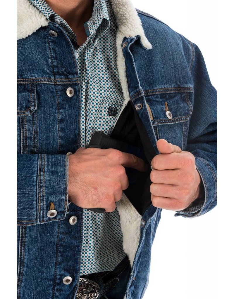Cinch Cinch Men's Denim Concealed Carry Jacket