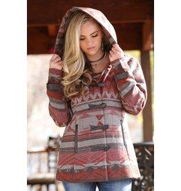 Cruel Girl Cruel Girl Patterned Tweed Coat