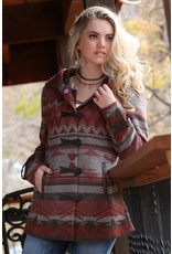 Cruel Girl Cruel Girl Patterned Tweed Coat