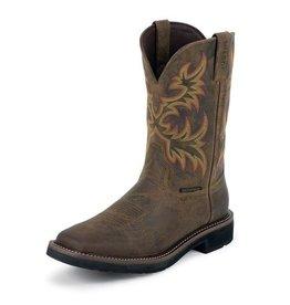 Justin Brands Justin Men's Driller Waterproof Work Boots