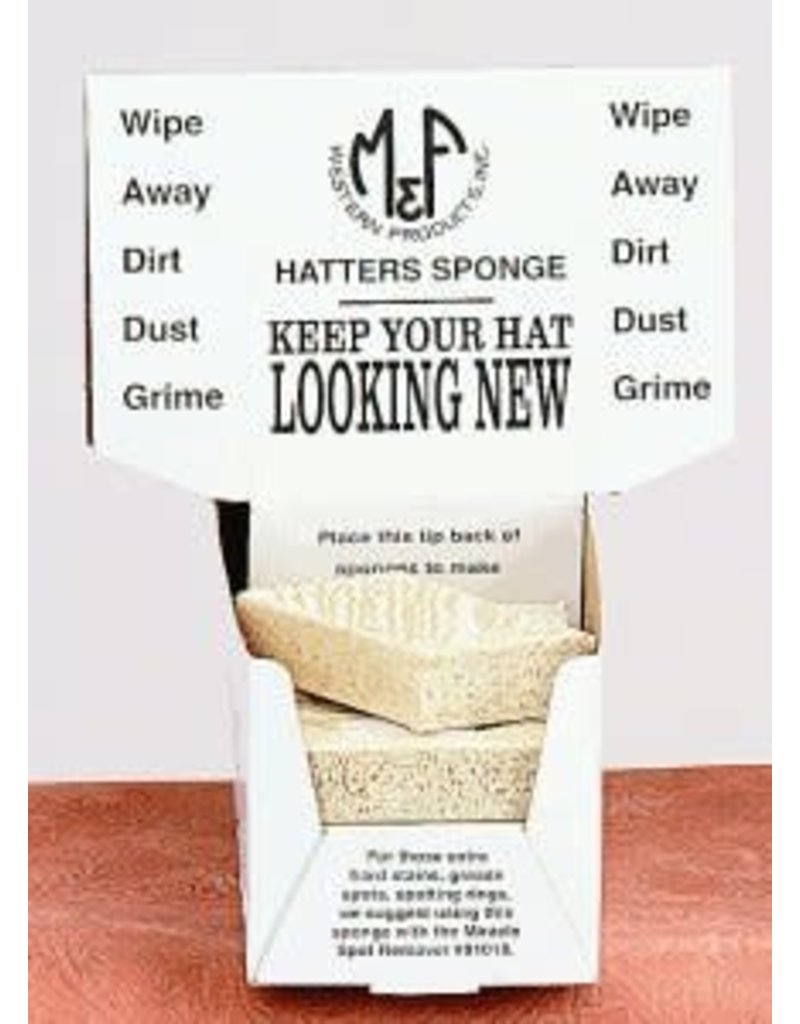 M&F Western Products Hatters Sponge