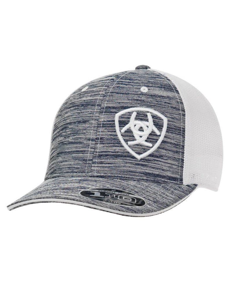 Ariat Ariat Grey Heather Mesh Snap Back