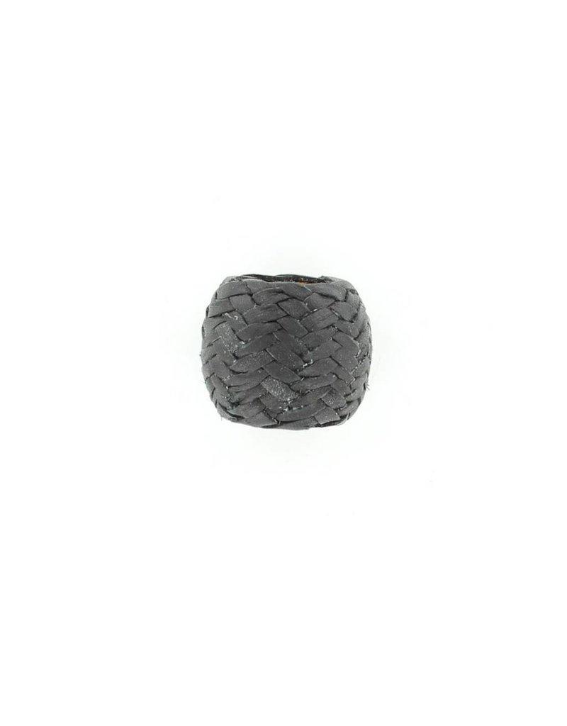 M&F Western Products Large Black Rawhide Scarf Slide