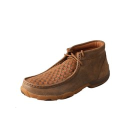 Twisted X Twisted X Women's Bomber Tan Driving Moccasins