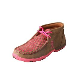Twisted X Twisted X Women's Bomber Neon Pink Driving Moccasins