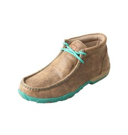 Twisted X Twisted X Women's Bomber Turquoise Driving Moccasins