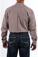 Cinch Cinch Men's Burgundy Print Long Sleeve Button Down Shirt