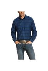 Ariat Ariat Men's Navy Long Sleeve Abner Shirt