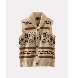 Pendleton Woolen Mills Pendleton Original Westerly Tan Sweater Vest