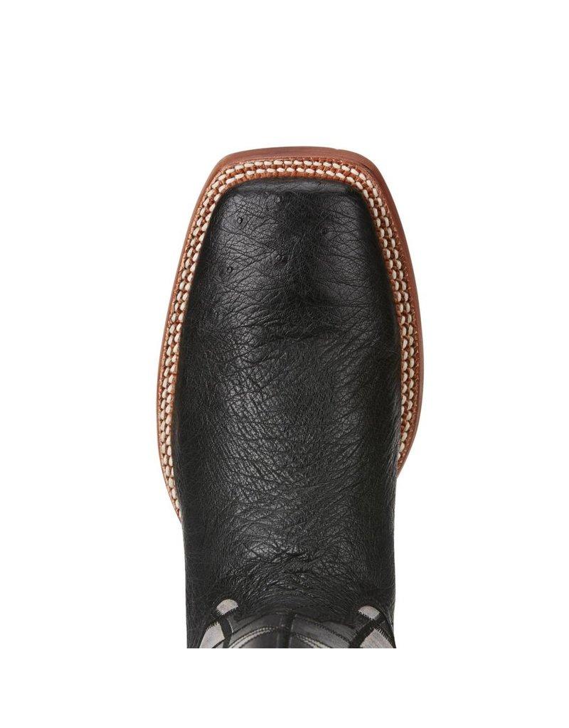 Ariat Ariat Men's Black Smooth Quill Ostrich Relentless Boots