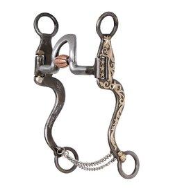 Classic Equine Gist Design High Port Roller Cavalry Star Cheek