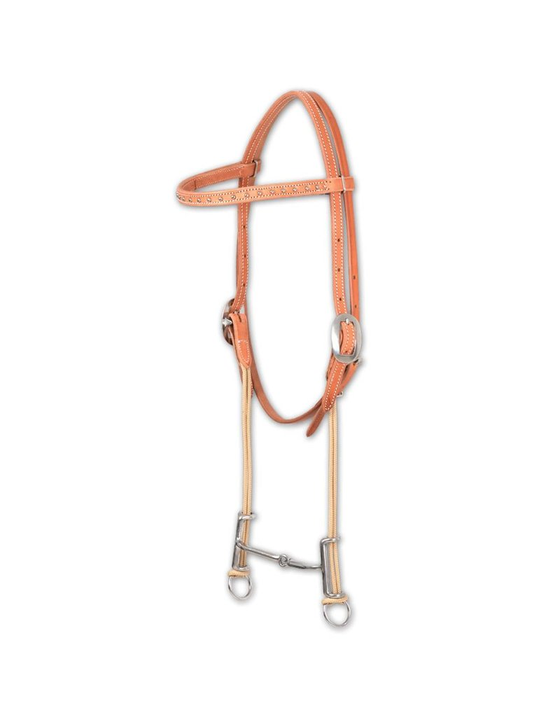 Classic Equine Loomis Smooth Gag Bit Browband