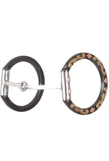 Classic Equine Diamond Dee Ring Square Snaffle