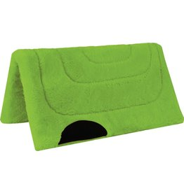 Mustang Princess Fleece Lime Pony Pad