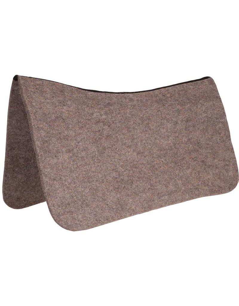 Mustang Contoured Grey Wool Pad Protector