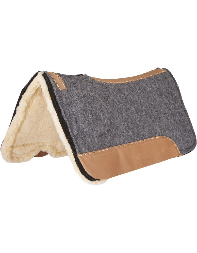 Mustang CorrectFit Fleece Bottom Saddle Pad